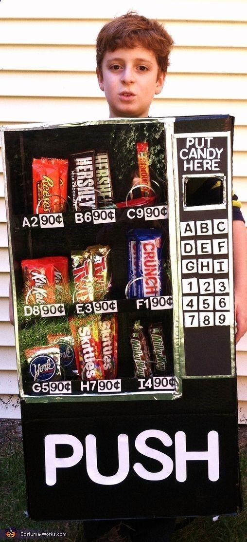 vending machine costume