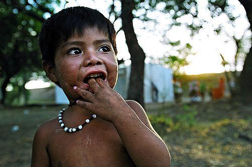 Guarani baby