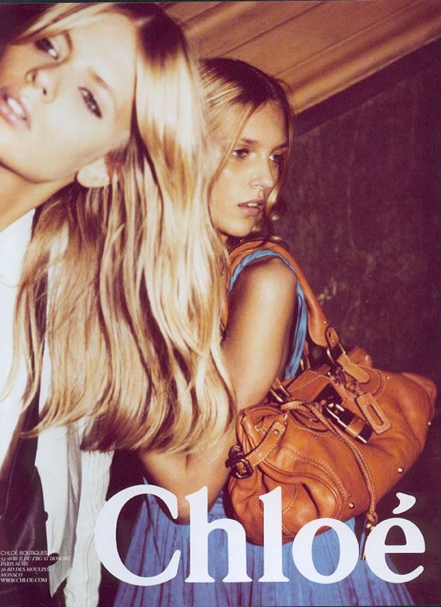 Julia Stegner and Anja Rubik by Inez & Vinoodh for Chloe Spring 2005 campaign - Google Search