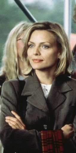 Michelle Pfeiffer in the movie: One Fine Day