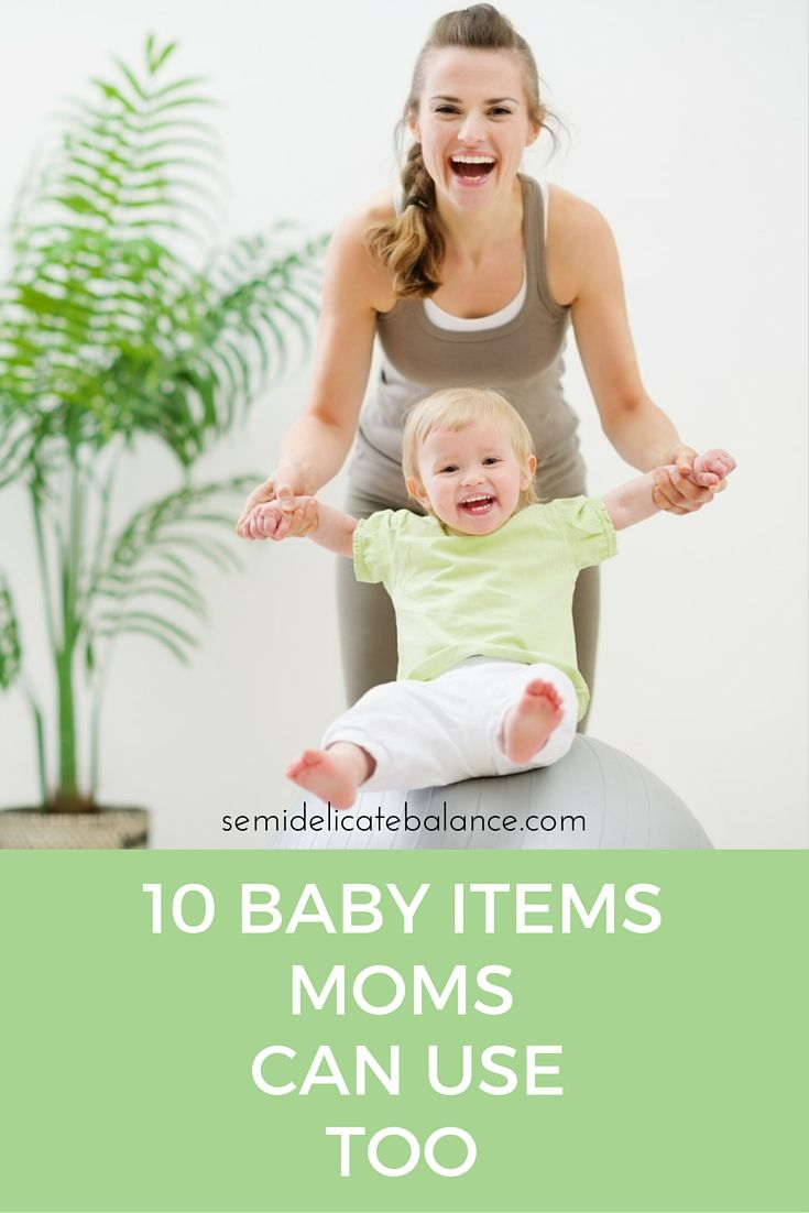 Yes! Moms can definitely use these baby items as well