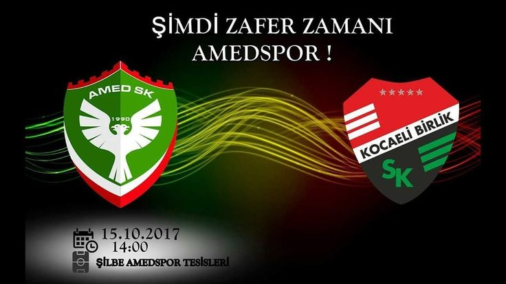 #amedspor 2-1 Kocaeli birlik spor maç özeti