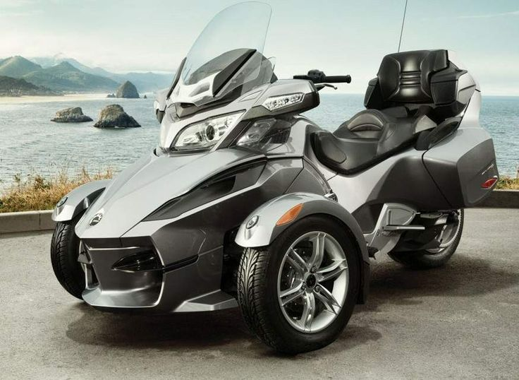 Can-Am Spyder RT Audio and Convenience Roadster, 2012