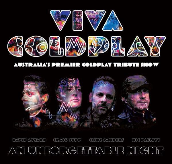 Viva Coldplay Poster Graphic Design by Clint Sanders