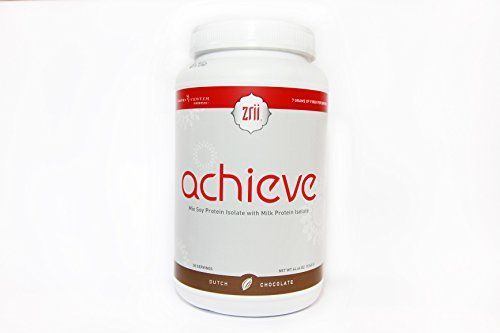 1x Zrii ACHIEVE Mix Soy Protein Isolate with Milk Protein Isolate Dutch Chocolate  4446 ounce  >>> Check out the image by visiting the link.