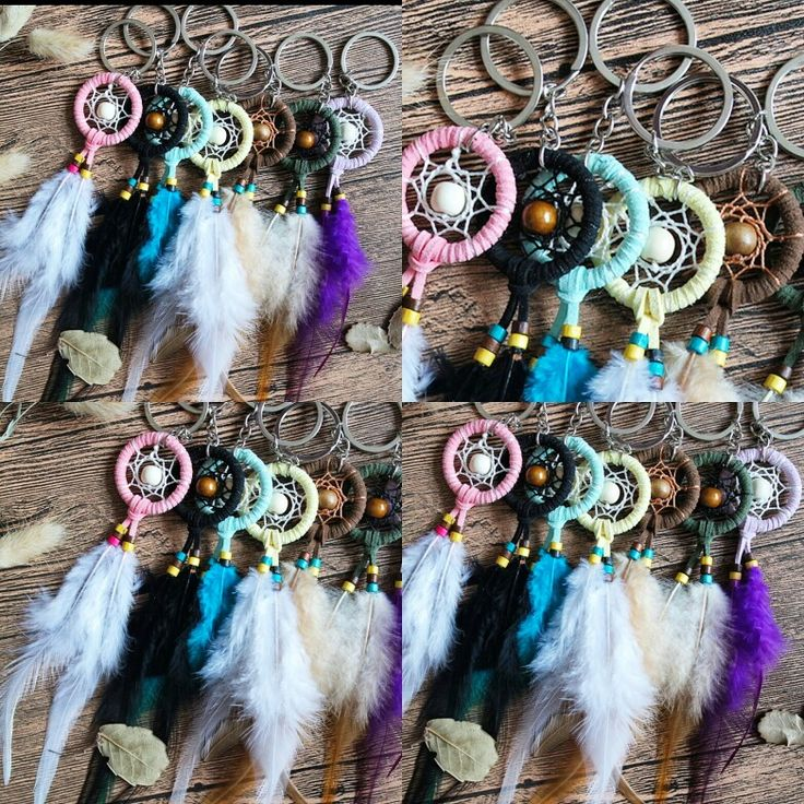 Pretty dream catcher keyholders are available at Department Golden Pineapple Please PM/emails us for further info