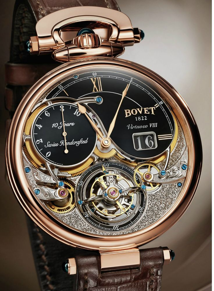 Occasionally, a luxury item will hit on that perfect balance between beautifully simple and elegantly complex, and the Bovet Recital 18 is a gorgeous example of this fine line. Dubbed The Shooting Star, this watch has plenty of functionality along with an ultra-sophisticated layout that would stop any lover of fine accessories in their tracks. #Luxury #news #watches #Bovet