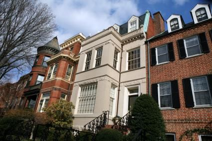 16 best georgetown townhomes images on pinterest for Luxury real estate washington dc