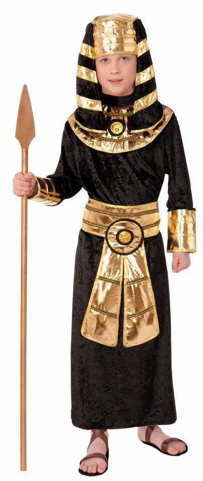 Child's Egyptian Pharaoh Costume - Historical Costumes - Kids' Toga Costumes