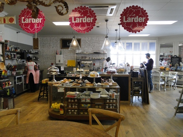 The Larder Block & Chisel « Following the Cape Town Coffee Shop trail…