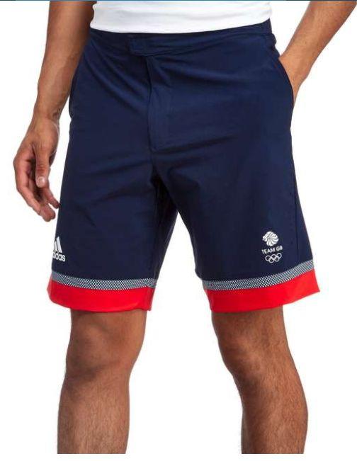 JD Sports adidas Team GB Bermuda Shorts