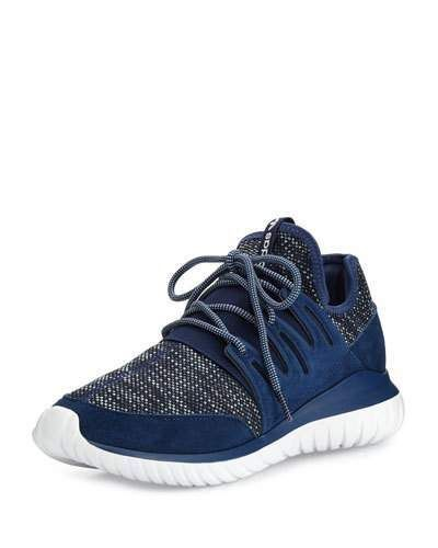 Adidas Men's Tubular Radial Trainer Sneaker, Navy
