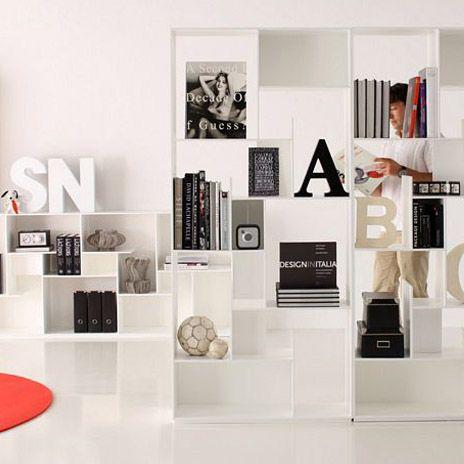 Modus bookcase by andrea lucatello. #miniforms #homedecor #interiordesign