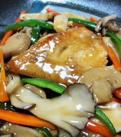 めかじきの中華風きのこあんかけ by syu♪さん | レシピブログ - 料理 ...