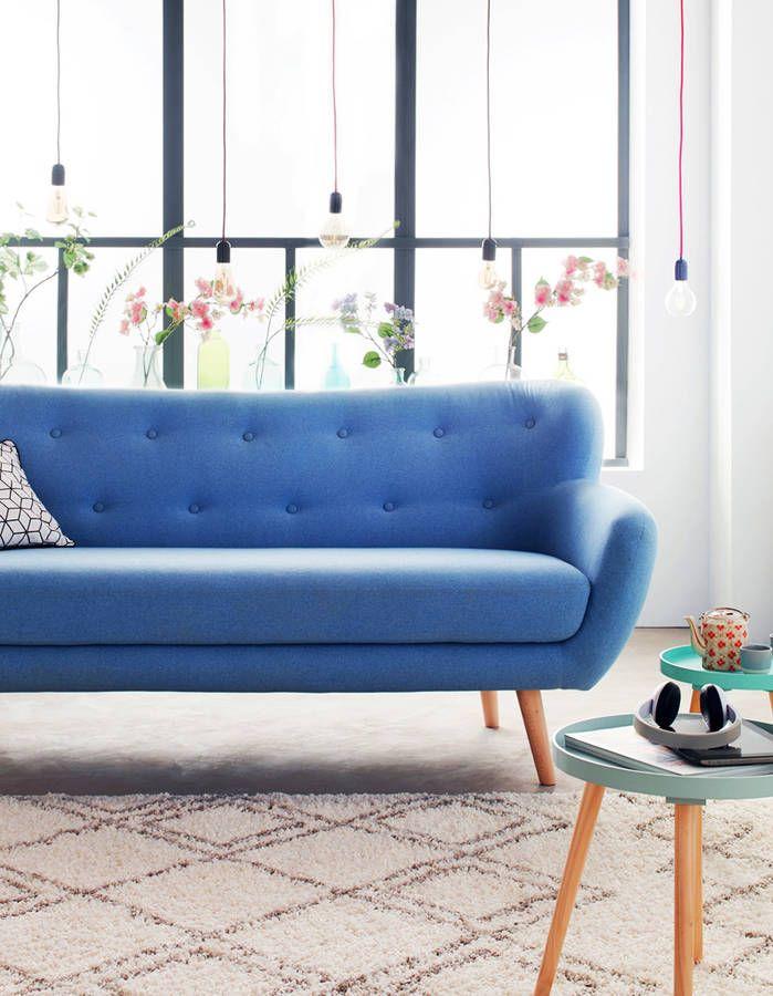 Du mobilier bleu