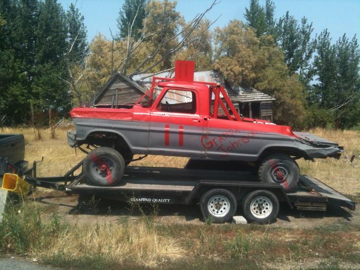 Utah Demolition derby truck | Derby | Pinterest | Nice ...