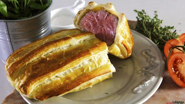 Receita de Bife Wellington. Descubra como cozinhar Bife Wellington de maneira prática e deliciosa!