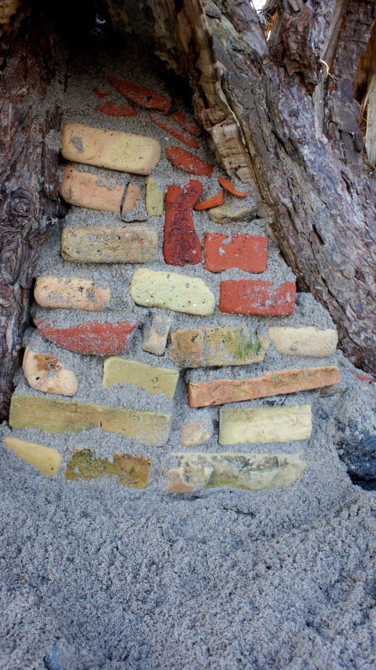 bricks in tree