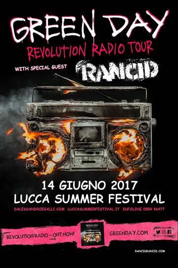 Summer Festival - GREEN DAY - LUCCA SUMMER FESTIVAL