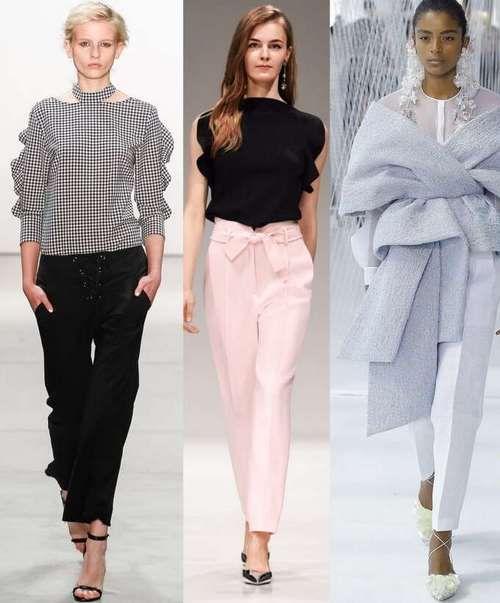 41e2f1ca108 Модные женские брюки 2018-2019
