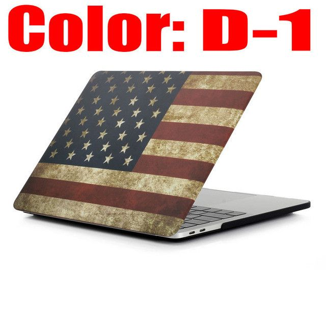 Fashion Marble Print Matte Hard Protector Case For MacBook Air 11 12 13 Pro 15