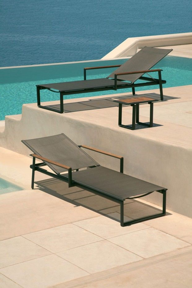 The Eclipse Sun Lounger By Barlow Tyrie.