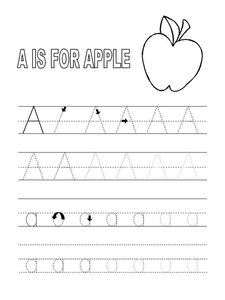 7 best Reyansh images on Pinterest   Pre-school, Alphabet tracing ...