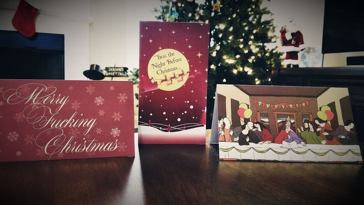 I think I need to send some @EffinCards to everyone for the holidays!