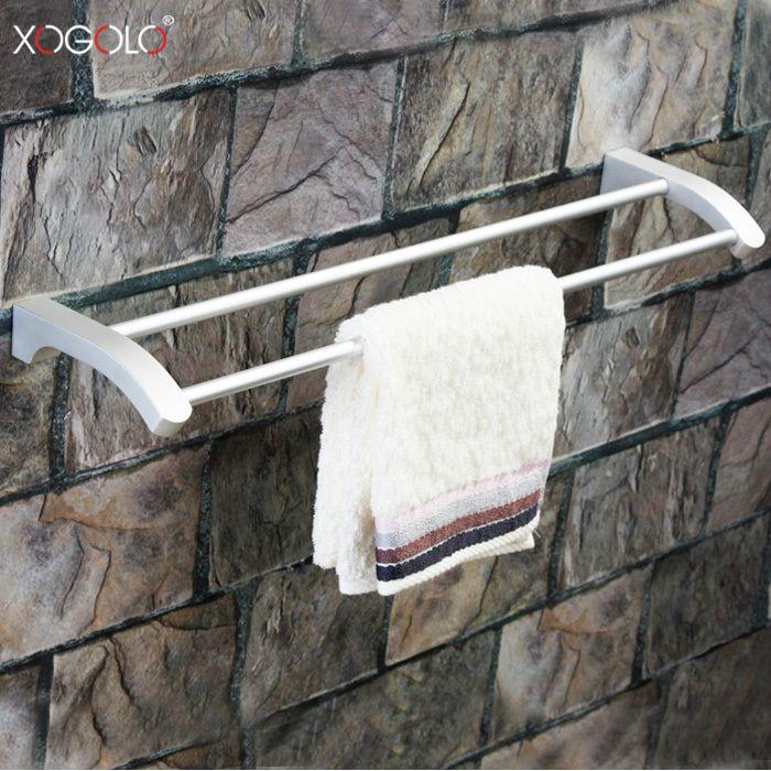 Дешевое Xogolo бар ванной полотенце однополюсный пространство алюминия ванной полотенце висит полотенце стойку аксессуары для ванной комнаты 18848, Купить Качество Бамбуковые полы непосредственно из китайских фирмах-поставщиках: