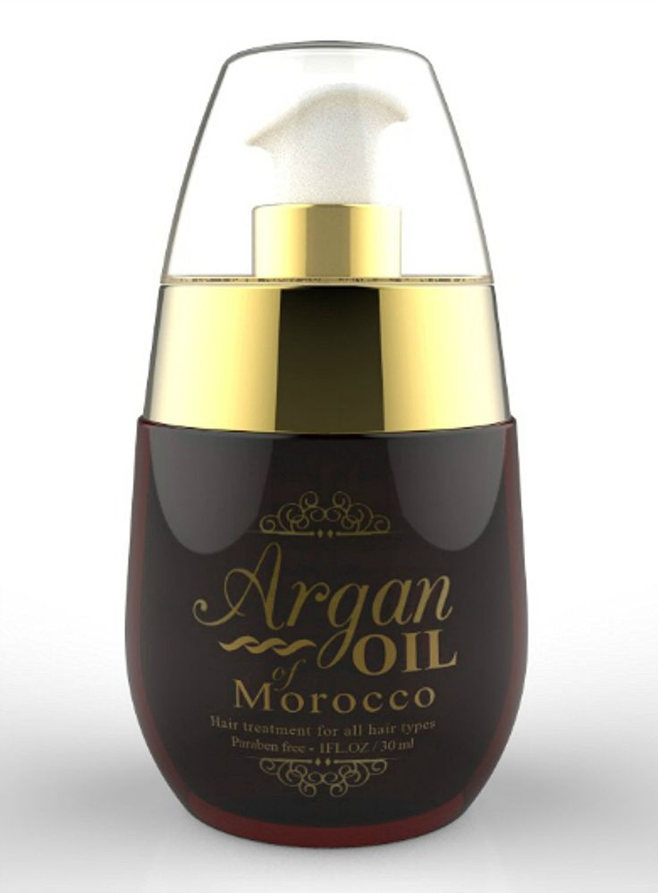 Moroccan Argan Oil with Castor oil  #hairclip