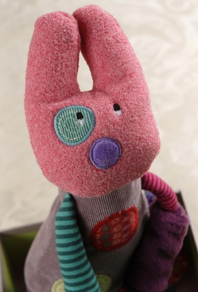 """Moulin Roty Les Jolis pas Beaux 11"""" Rabbit Doll $32"""