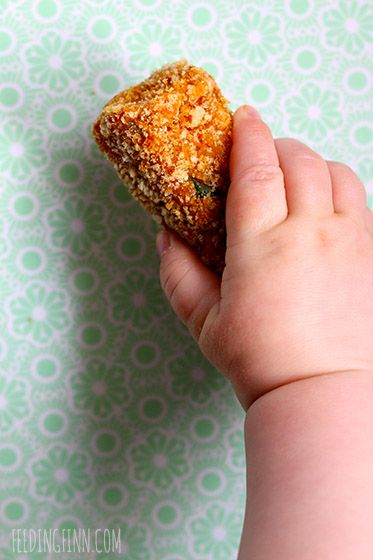 These sweet potato, lentil and carrot croquettes are perfect for baby-led weaning and kids but will be enjoyed by the whole family.