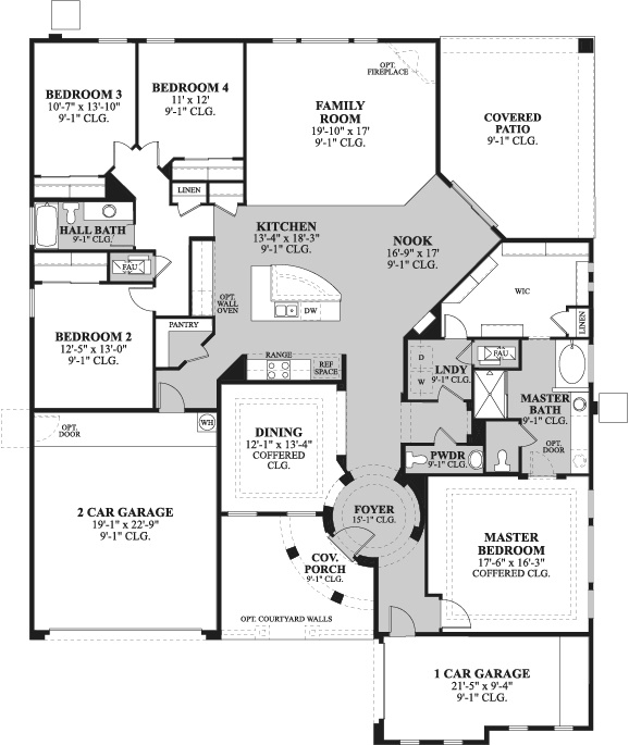 Amazing House Plans. See More. Best Floorplan! Look At Garage Entry To Pantry And  Laundry Attached To Master Closet!