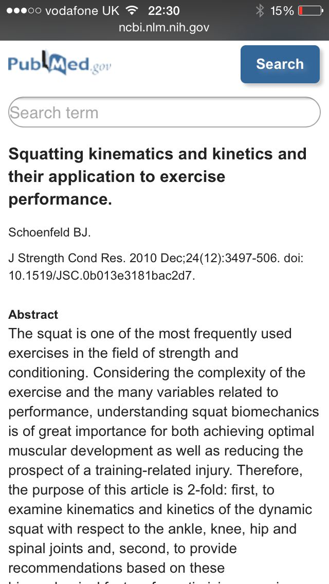 Squatting kinematics and kinetics  http://www.ncbi.nlm.nih.gov/m/pubmed/20182386/