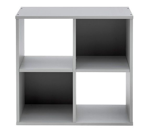 Buy HOME Squares 4 Cube Unit - Putty at Argos.co.uk, visit Argos.co.uk to shop online for Bookcases and shelving units, Bookcases, shelves and DVD storage, Storage, Home and garden