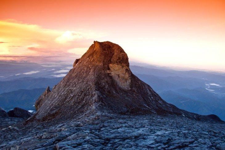 マレーシア・キナバル山