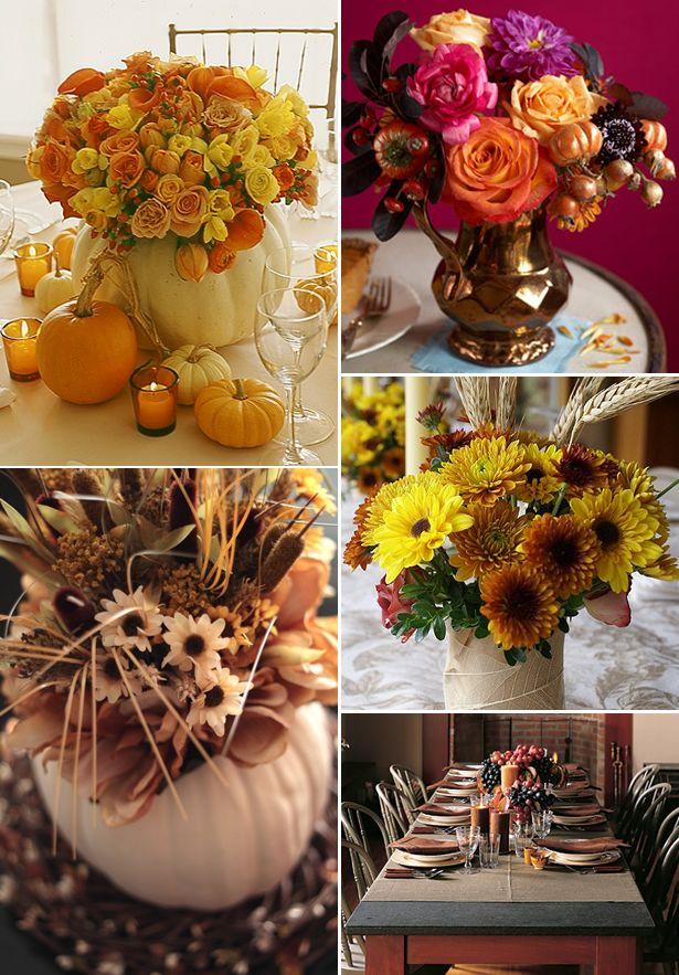 Beautiful Fall Centerpieces | Fall Centerpieces (Source:  Brocadenashville.com) · Wedding Shower ...
