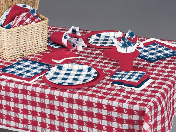 Give a Heartwarming Hello with Red Gingham Party Supplies!Welcome guests with a heartwarming hello when you host with the Red Gingham Party Supplies! Whether you are gathering friends to a backyard