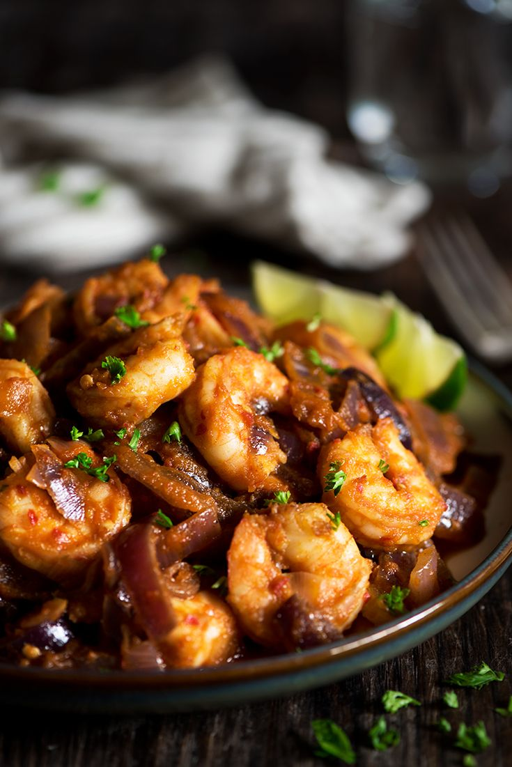 Spicy Malaysian Sambal Shrimp is ridiculously fast and incredibly tasty. Perfect for busy nights, but never lacking in flavor.