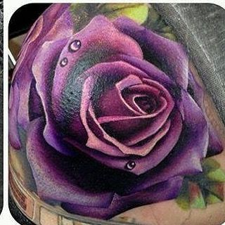 In love with this Rose tattoo