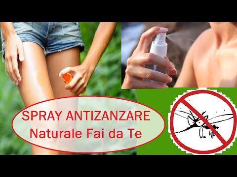 Spray Antizanzare Naturale Fai da Te - Facile! - YouTube