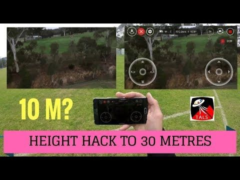DJI TELLO - MAX HEIGHT HACKED TO 30m - FULL REVIEW of
