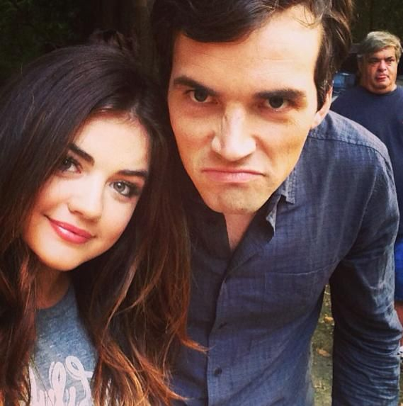 Lucy Hale and Ian Harding | Cute Couples | Pinterest | Ps ...