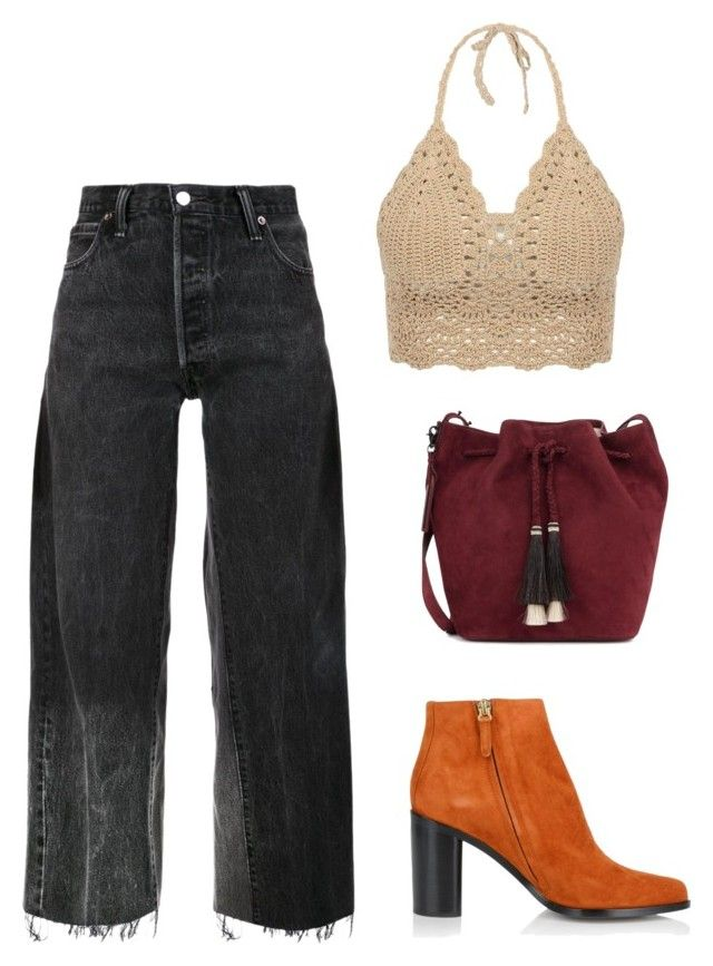 evento de dia by luziagalvang on Polyvore featuring moda, RE/DONE, Chloé and Loeffler Randall