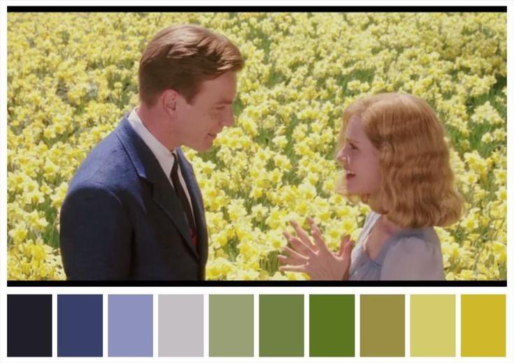 30 paletas de cores de cenas maravilhosas de grandes sucessos do cinema