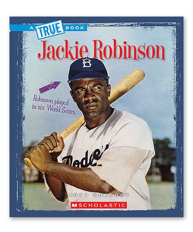 Loving this Jackie Robinson Paperback on #zulily! #zulilyfinds