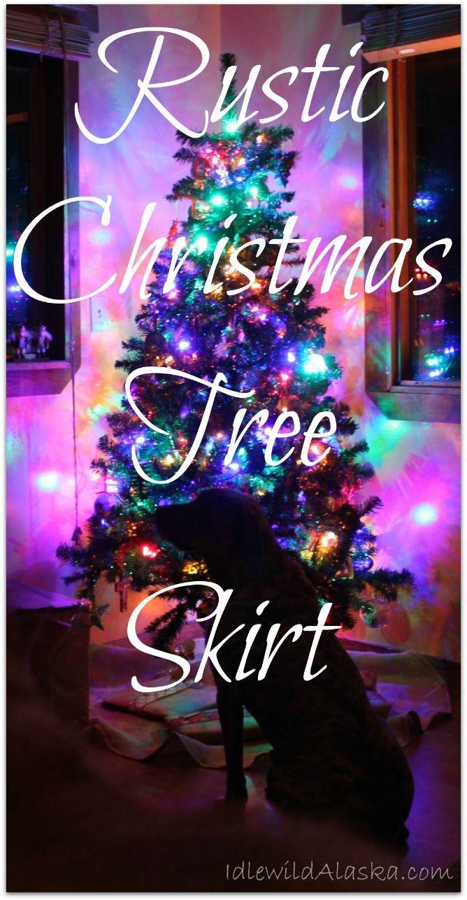 Rustic Christmas Tree Skirt - IdlewildAlaska