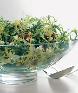 Frisée, Bacon, and Goat-Cheese Salad | RealSimple.com