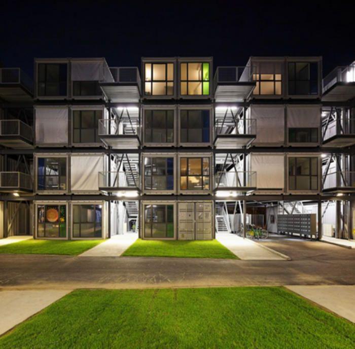 Las mejores creaciones de casas hechas con contenedores - Casas hechas con contenedores precios ...