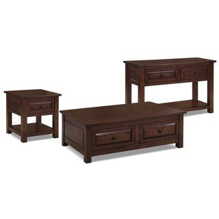 Vienna 3-Piece Coffee, End and Sofa Table Package